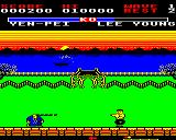 Yie Ar Kung-Fu 2: The Emperor Yie-Gah BBC Micro Finally you meet Yen Pei who attacks with his hair