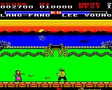 Yie Ar Kung-Fu 2: The Emperor Yie-Gah BBC Micro Lang Fang throws things at you