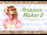 Princess Maker 2 TurboGrafx CD Title screen