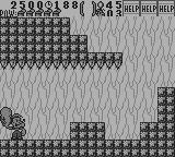 Popeye 2 Game Boy Round 1-3 is filled with spikes