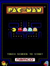 Pac-Man Android Title screen