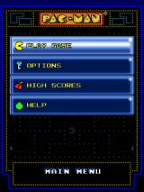 Pac-Man Android Main menu