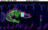 Roberta Williams' King's Quest I: Quest for the Crown DOS A dragon is here! (EGA)