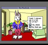 The Manhole TurboGrafx CD The rabbit offers you tea...