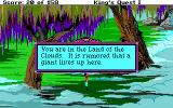 Roberta Williams' King's Quest I: Quest for the Crown DOS A giant? Yikes! (EGA)