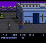 Double Dragon II: The Revenge Genesis Boss fight