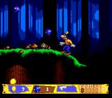 Goofy's Hysterical History Tour Genesis These blue balls can be collected which can then be used to throw at enemies