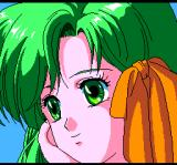 Dragon Slayer: The Legend of Heroes II TurboGrafx CD Close-up on faces while introducing characters