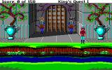 Roberta Williams' King's Quest I: Quest for the Crown Amiga Outside the castle