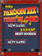 Pakoon III: First Blood Windows Main menu