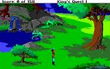 Roberta Williams' King's Quest I: Quest for the Crown Amiga Exploring the countryside...
