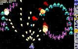 Cash Invaders DOS Level 29, the magnet and scattershot make for a sweet combination
