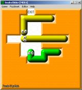 SnakeSlider Windows Additional puzzles can be downloaded, this one is pretty difficult but not impossible
