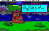 Roberta Williams' King's Quest I: Quest for the Crown Amiga A troll bridge
