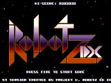 Robotz DX Windows Title screen