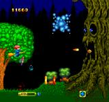 Fantastic Night Dreams: Cotton TurboGrafx CD ...mid-level tree boss...