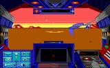 Stellar 7 DOS A game in progress (EGA)