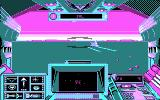 Stellar 7 DOS A game in progress (CGA)
