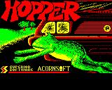Hopper BBC Micro Loading screen from the re-released Play It Again Sam 6 version.