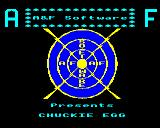 Chuckie Egg BBC Micro Loading Screen