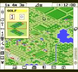 A-Train TurboGrafx CD It's a nice rural area. What do I do? Build a golf course!..