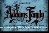 The Addams Family TurboGrafx CD Title screen