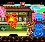 Kabuki Ittōryōdan TurboGrafx CD ...and a deadly fire attack!