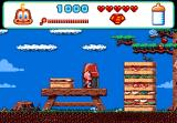 "Baby Jo in: ""Going Home"" TurboGrafx CD Picnic level features lots of ants and giant sandwiches"