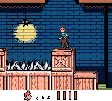 Tintin: Le Temple du Soleil Game Boy Color Ever heard of a museum which bothers to set up fields of spikes on its crates?