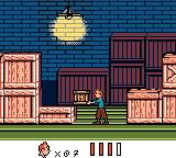 Tintin: Le Temple du Soleil Game Boy Color The designers really overused the elemental, clichéd crate-platform puzzles in this section.