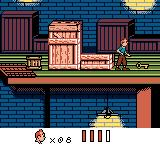 Tintin: Le Temple du Soleil Game Boy Color Found the missing key