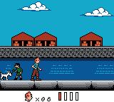 Tintin: Le Temple du Soleil Game Boy Color At the docks