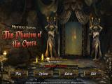 Mystery Legends: The Phantom of the Opera (Collector's Edition) Windows Main menu