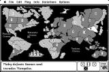 The Computer Edition of Risk: The World Conquest Game Macintosh Game start