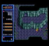 The Legend of Xanadu TurboGrafx CD Exploring a mountain cave