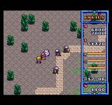 The Legend of Xanadu TurboGrafx CD It's twilight. High-level party is fighting evil warriors on the paved road
