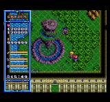 The Legend of Xanadu TurboGrafx CD This weird place is shaped like a world map inside a palace. Really!..