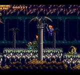 The Legend of Xanadu TurboGrafx CD Jump to avoid that guy's ranged attack! But beware... behind you!!..