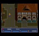 The Legend of Xanadu II TurboGrafx CD Nice town! The architecture has decidedly improved compared to the first game