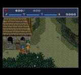The Legend of Xanadu II TurboGrafx CD Nice village... quiet, good weather... maybe we stay here? Instead of saving the world? No?..