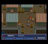 The Legend of Xanadu II TurboGrafx CD Bustling port town. Market square