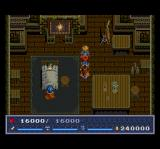 The Legend of Xanadu II TurboGrafx CD Cozy scene with fireplace