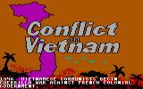 Conflict in Vietnam PC Booter Title screen