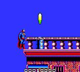 Superman: The Man of Steel Game Gear These flaks are almost impossible to pass without loosing energy, and the designers did not always place them so you can reach them from the left.