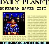 Superman: The Man of Steel Game Gear They didn't even care to take a new picture.