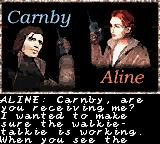 Alone in the Dark: The New Nightmare Game Boy Color Aline and Edward communicate via walkie-talkies.