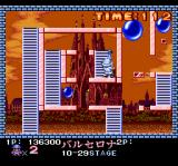 Pang TurboGrafx CD Bonus stage, in the evening... harder than the usual one
