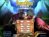 Puppet Show: Souls of the Innocent (Collector's Edition) Windows Main menu