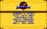 Skunny: Special Edition DOS Main menu