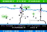 Panzer Grenadier Apple II Starting to encounter enemy fire